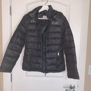 Calvin Klein Black Puffer Jacket, Size XS *
